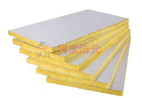 Face glass wool board