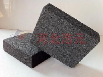 Thermal insulating foam glass
